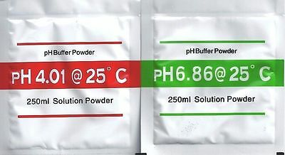 PH Buffer Powder for PH meter Calibration Solution pH6.86 pH4.01 each one