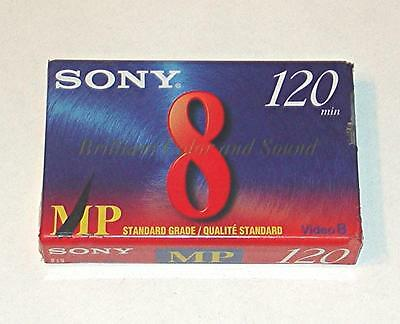 New Sealed Sony 8 Mp Standard Grade 120 Minute Blank Camcorder Video Tape