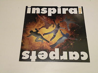 Inspiral Carpets - Life - Lp 1990 Mute Records Uk - Embossed Cover - Ois - Indie