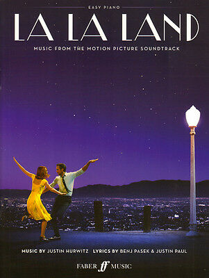 La La Land Soundtrack Songbook Noten Easy Piano Klavier leicht 9780571539833