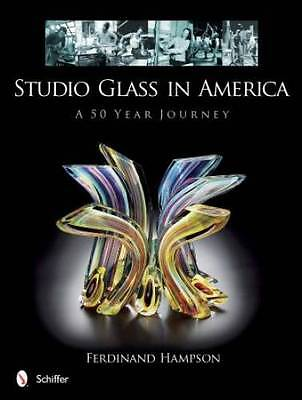 Studio Glass in America - 50yr History of Artistic Masterpieces Lg Color Photos