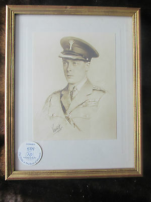 Property from the Auction of the Duke and Duchess of Windsor 1997. Vandyk Framed
