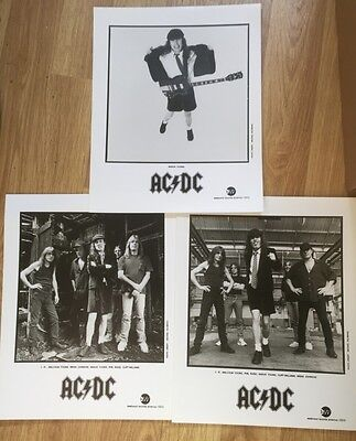 AC/DC Ballbraker 1996  Line up Official Press Promo Pictures EXC