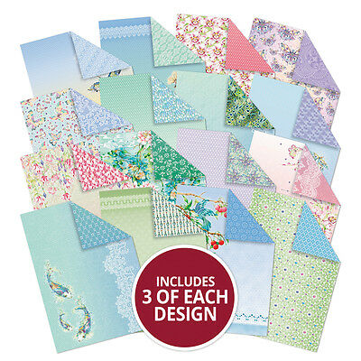 Hunkydory Paradise Jewels Luxury Speciality Craft Paper x 16 A4 Sheets