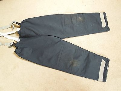 Bristol Uniforms Firefighters Over Trousers Navy Blue