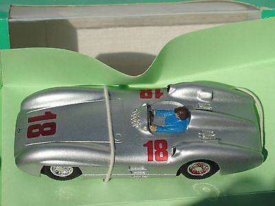 Bumslot  Mercedes W 196 'streamliner'   #18 Silver  1:32 Slot New Old Stock