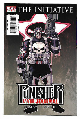 Punisher War Journal The Initiative #7 2007 Marvel Comics
