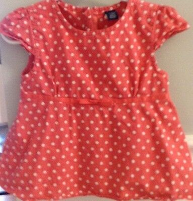 Baby Gap 2T Girl Top Shirt