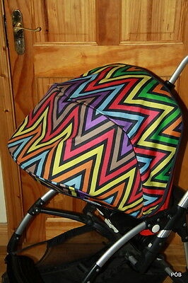 Very Desirable Rare Bugaboo Bee Plus/bee3 Missoni Special Edition Canopy Hood