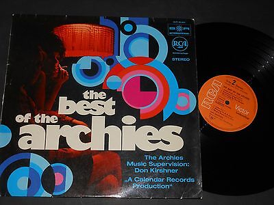Vinyl LP THE ARCHIES The Best Of The Archies