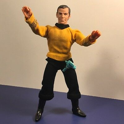 1974 Mego Star Trek Action Figure Toy Doll Captain James T Kirk William Shatner