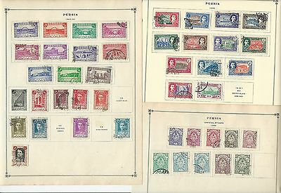 Middle East 1940-1963 Collection on Scott International Pages, 18 Pages