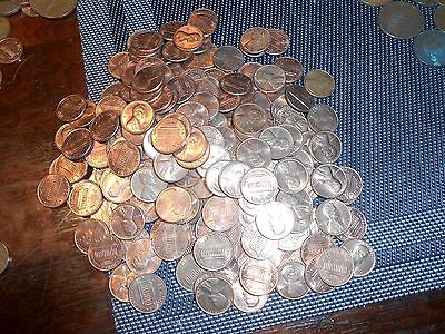 Nice Roll Of 50 Usa Unc/bu Small Cent Pennies  Date Will Range From 1959-1980