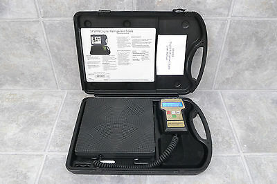 Digital Refrigerant Charging Scale Meter 5PWF8 Up To 110 Excellent Condition