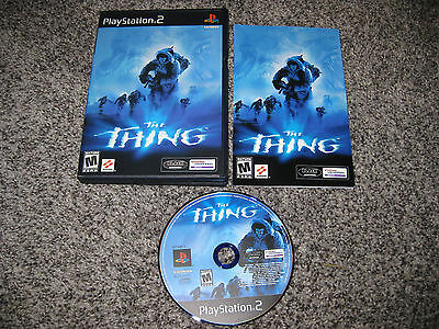 Thing (Sony PlayStation 2, 2002) PS2 GREAT CONDITION