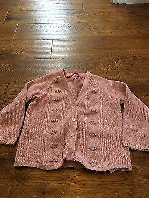 Gorgeous Cath Kidston baby girls knitted cardigan size 12-18 months