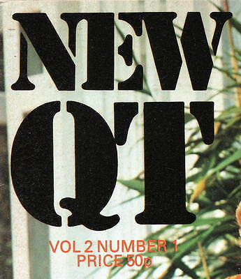 NEW QT:Vol.2 No.1,September 1975-Classic Russell Gay Mens' Glamour Magazine