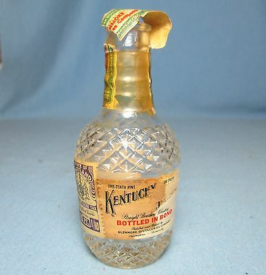 Vintage Miniature Liquor Whiskey Bottle KENTUCKY TAVERN with Original Tax Stamp