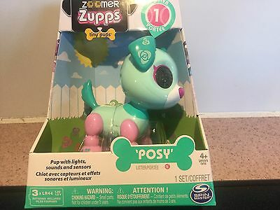 Posy!! Zoomer Zupps 1St Litter Tiny Pups Interactive Puppy Great Easter Gift