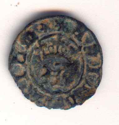 Cincin 19.Very Nice Coin Half Real Portugal Medieval ,to Identify.size 18mm