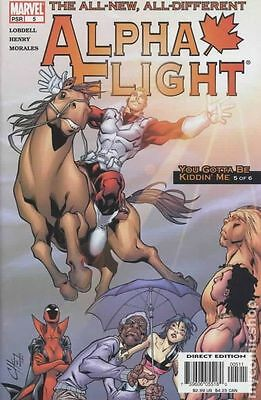 Alpha Flight (2004 3rd Series) #5 VF