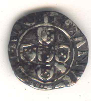 Cincin 19.Nice Coin Half Real Portugal Medieval,Silver to Identify.0,70gr