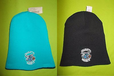 NEW Winter Hat CHARLOTTE HORNETS (ONE SIZE) Two-Sided STARTER PERFECT !!! NBA