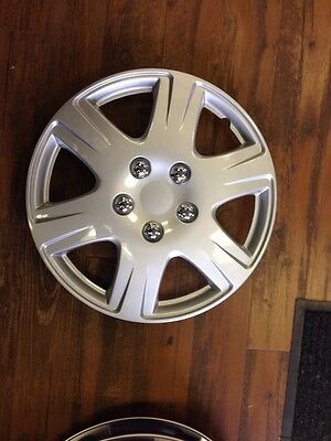 """4-15"""" NEW Honda fit HUBCAPs WHEELCOVERs 2009 2010 2011 2012 Hub Caps wheel cover"""