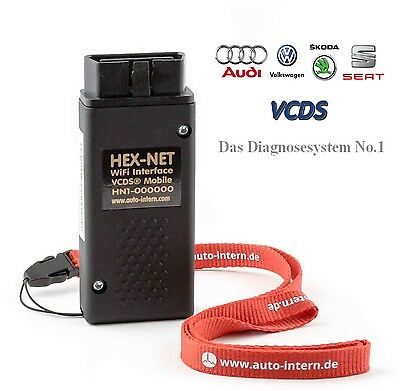 VCDS HEX-NET WIFI, kabelloses VCDS Diagnose System für iPhone,Android,Tablet,PC