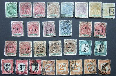 British Commonwealth - Transvaal - Selection of stamps