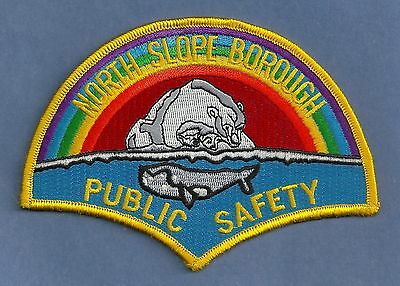 North Slope Borough Public Safety Police Fire Ems Patch