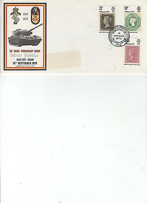 1970  Philympia - Army - British Postal Services 1136 - 23 Base Workshop