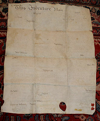 1792 Hand Written Land Deed Parchment Berks County PENNSYLVANIA Exeter Township