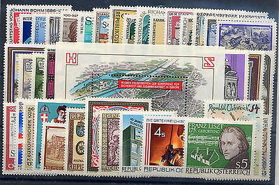 Austria, 1986, Year Complete, MNH;
