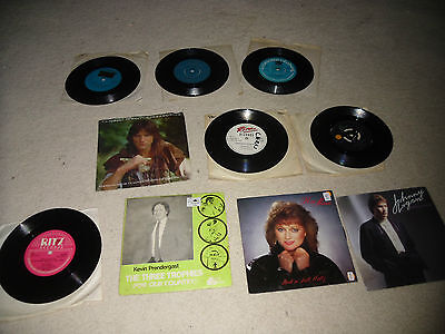 """Collection of 10 Irish Country / Pop 7"""" vinyl The Chieftains Clannad Frank Kelly"""