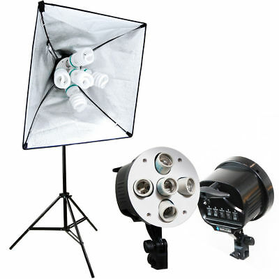 "24""x24"" / 60x60cm Photo Studio Lambency Lamp Shade 5-lamp Socket Softbox"
