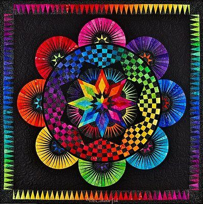Circle of Life, Jacqueline de Jonge, DIY Paper Pieced Quilt Pattern Quilting