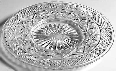 Imperial Glass Ohio CAPE COD CLEAR Bread & Butter Mayo Underplate 7088455