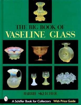 Antique Vaseline Glass Ref Book Marks Shapes How-To ID