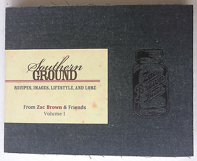 ZAC BROWN & FRIENDS SOUTHERN GROUND VOL.1 RECIPES IMAGES LIFESTYLE & LORE lp cd