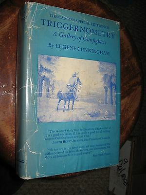 Triggernometry Gallery of GUNFIGHTERS E Cunningham Old West Western Cowboys HCDJ