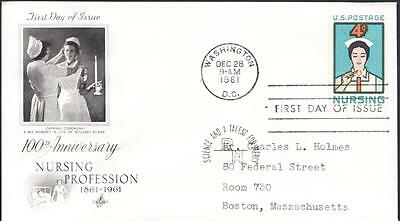 NURSING PROFESSION NURSE Stamp Nurse Capping Ceremony First Day Cover FDC