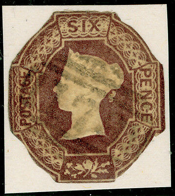 Sg59, 6d dull lilac, used.