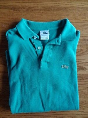 Lacoste Polo Style Shirt - size 14 - Top Quality & Condition