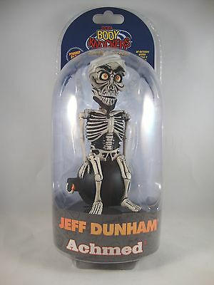 "Jeff Dunham ""Achmed, the Dead Terrorist"" Solar Powered Body Knocker Neca"