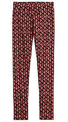 Justice Girls Cozy Printed Leggings COCO CORAL Size 10  NWT