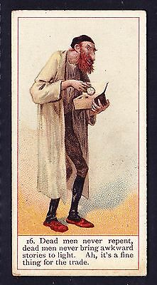 Cope Bros DICKENS GALLERY (BACK LISTED) 1900 #16 Fagin *VG Condition*