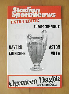 1982 European Cup Final ASTON VILLA v BAYERN MUNICH Stadium Edition *Exc Cond*