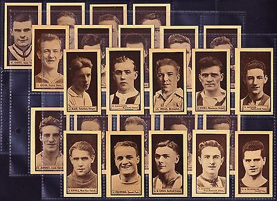 D.C. Thomson THIS YEAR'S TOP FORM FOOTBALLERS 1924 Set Of 24 *VG Condition*