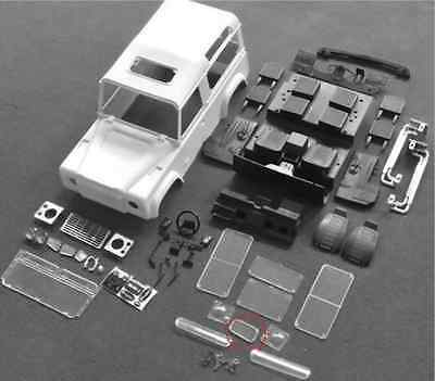 EP 4WD Xtra Speed D90 Hard Plastic Body Kit For 1:10 RC Cars Crawler #XS-59491